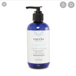 New Cuccio yoga huh calm + clean hand & body wash